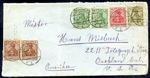 GERMANY-TO-USA-Front-Cover-1921-4-Colours-NICE