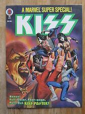 Marvel Comics Super Special (color Magazine) # 5 Kiss incl póster VFN +/nm -