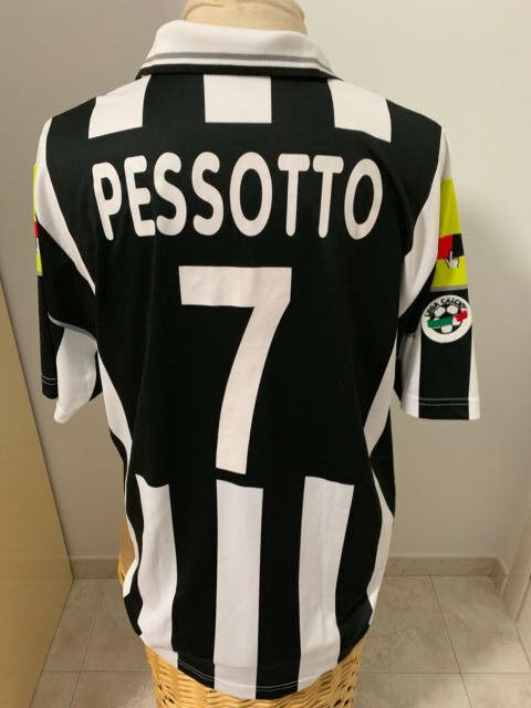 Maglia Juventus 2000 2001 Nr 7 Pessotto match worn shirt Jersey Juve camiseta