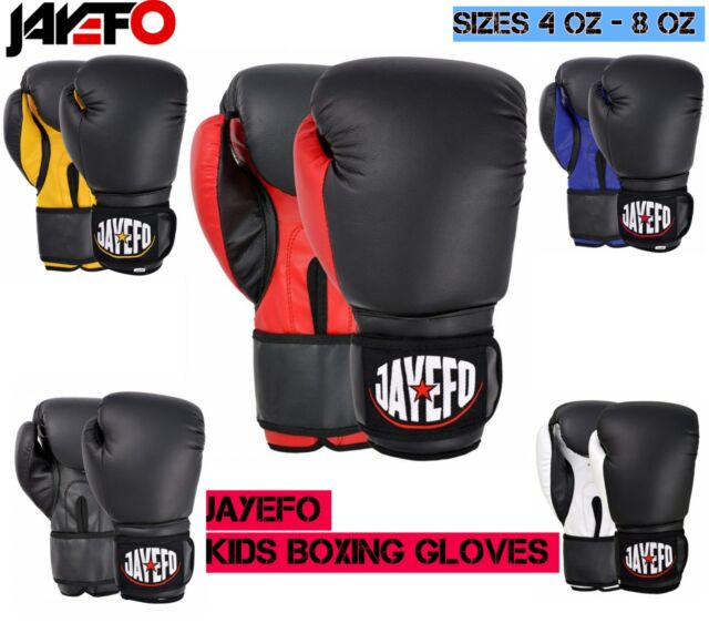 2oz Muay Thai Kids Boxing Gloves Junior Youth MMA Sparring Training Punching
