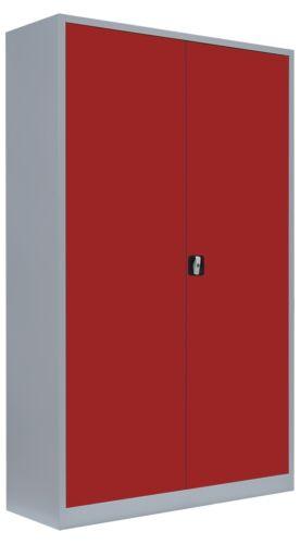 Aktenschrank Büroschrank Metallschrank 120cm Stahlschrank Lagerschrank  530384
