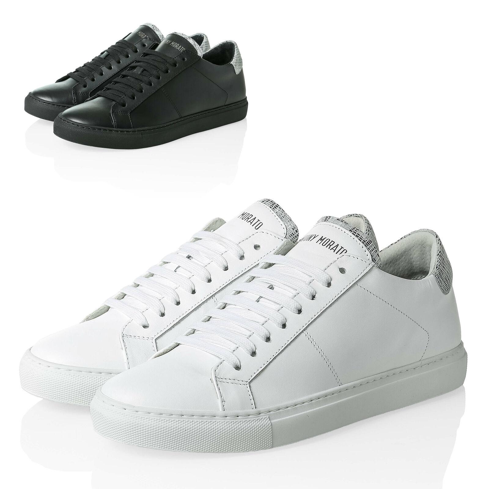 Antony Morato Hommes Faible Top paniers en véritable cuir Chaussures hommes chaussures SALE%