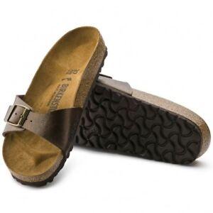 Birkenstock-MADRID-239511-Reg-Ladies-Birko-Flor-Graceful-Sandals-Toffee-Brown