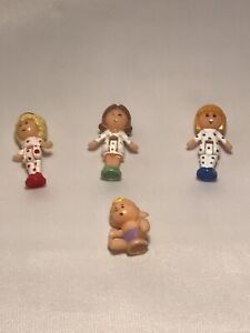Polly Pocket Pyjama Party dressing table figures 1990 bluebird toys