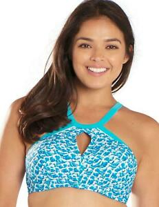 675c3b64568bb Curvy Kate Riptide Plunge Bikini Top Blue Print CS4851 Curvy Kate ...