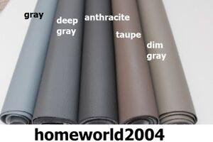 En-cuir-synthetique-RECOUVERT-DE-TISSU-Similicuir-Fire-retarded-Vinyle-Grey-nuances