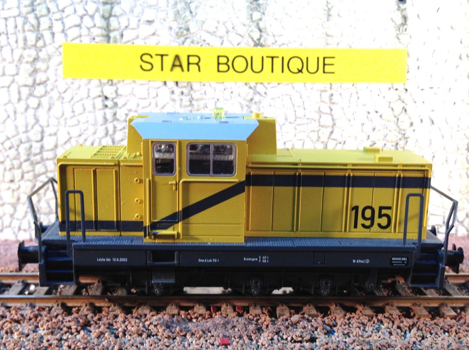 MÄRKLIN 29182 (ex startset) HO - Locotracteur 030 DHG 700 Cie privée - digital