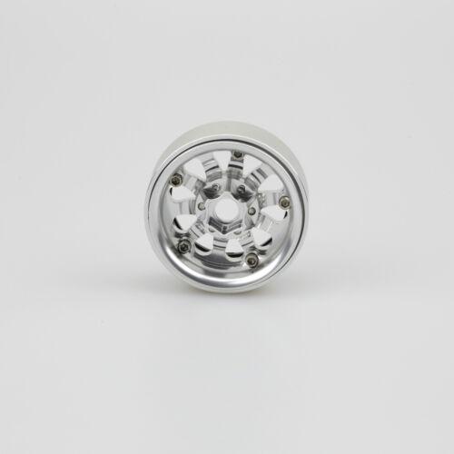 "ALIENTAC One 1.9/"" Wide 1/"" Alloy Beadlock Wheel Rim for 1//10 RC Model #034x1"