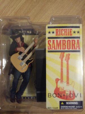 McFarlane Bon Jovi RICHIE SAMBORA 6 Inch Action Figure Brand New Rock Band