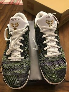 b0561f3e324 Image is loading Nike-Kobe-IX-9-Elite-Low-Flyknit-Multicolor-