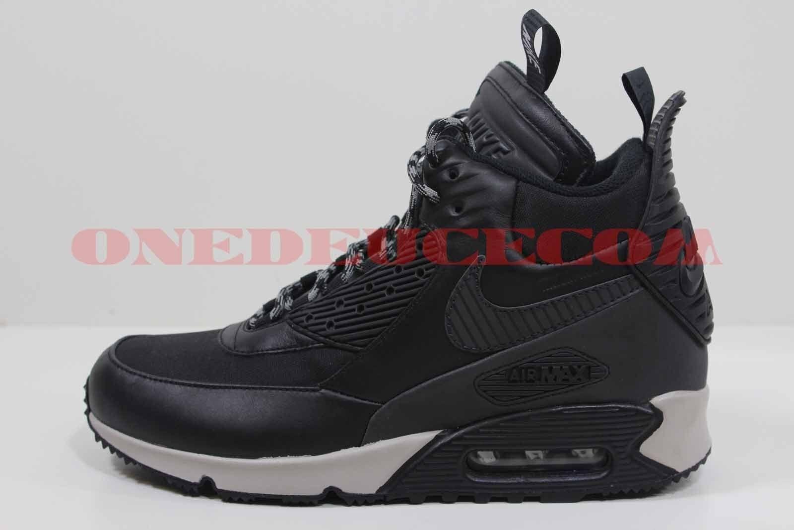 wntr noir nike air max 90 sneakerboot aimant grey de 684714 001 confortable spéciaux de grey durée limitée 6a64bf