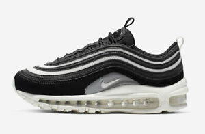 Nike-W-Air-Max-97-Black-Size-8-US-Womens-Athletic-Running-Shoes-Sneakers