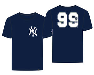 promo code 40920 a1fd5 Details about New York Yankees Aaron Judge '47 Brand Navy Blue Super Rival  Jersey T-Shirt