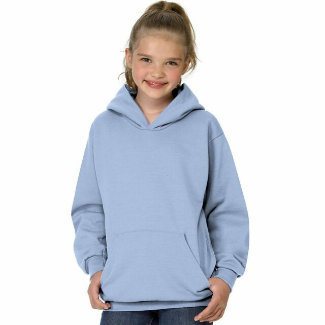 cc75e8827 Gildan Youth Kids L Large Light Blue pullover hooded Sweatshirt ***LAST ONE*