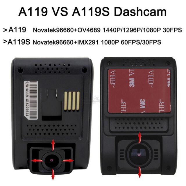 Original Viofo A119S HD 1080P Car Dash Cam GPS Camera DVR+CPL Lens+Sucker Holder