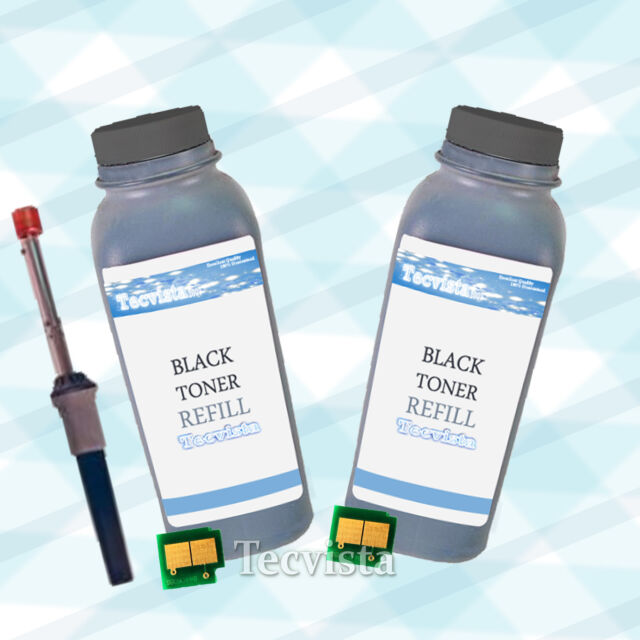 2 Non-OEM Black Toner Refill for use in HP Q6470A 3600 3600N 3800 3800N