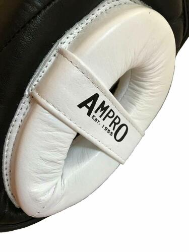 Cheek Head Guard Spar Boxing Ampro Impact GEL Sparring Headguard