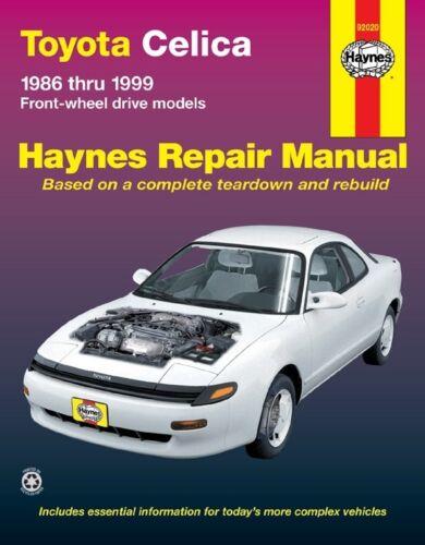 Repair Manual-GT Haynes 92020 fits 1986 Toyota Celica