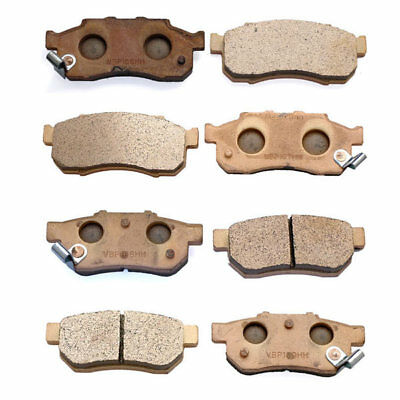 Volar Front /& Rear Brake Pads for 2009-2014 CAN AM Outlander 400 EFI