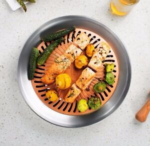 Gotham Steel Korean Indoor BBQ Grill Nonstick Smokeless Stove Top ...