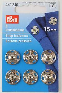 6-annah-bottone-automatico-15mm-Argento-Von-PRYM-art-no-341249