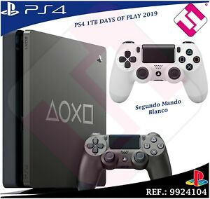 DAYS-OF-PLAY-PS4-1TB-2019-PLAYSTATION-4-EDICION-LIMITADA-SEGUNDO-MANDO-BLANCO