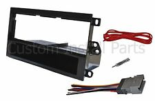 Aftermarket Single Din ISO Radio Stereo Install Dash Kit Wire Harness Antenna