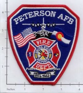 Colorado Peterson Air Force Base CO United States Air Force Patch