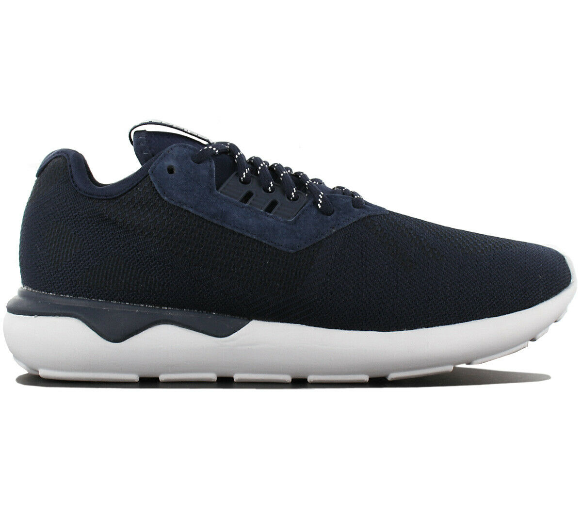 Adidas Originals Tubular Runner Weave Herren Turnschuhe Schuh Turnschuh Blau B25596