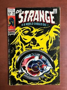Doctor-Strange-181-1969-6-0-FN-Marvel-Key-Issue-Silver-Age-Stan-Lee-Comic