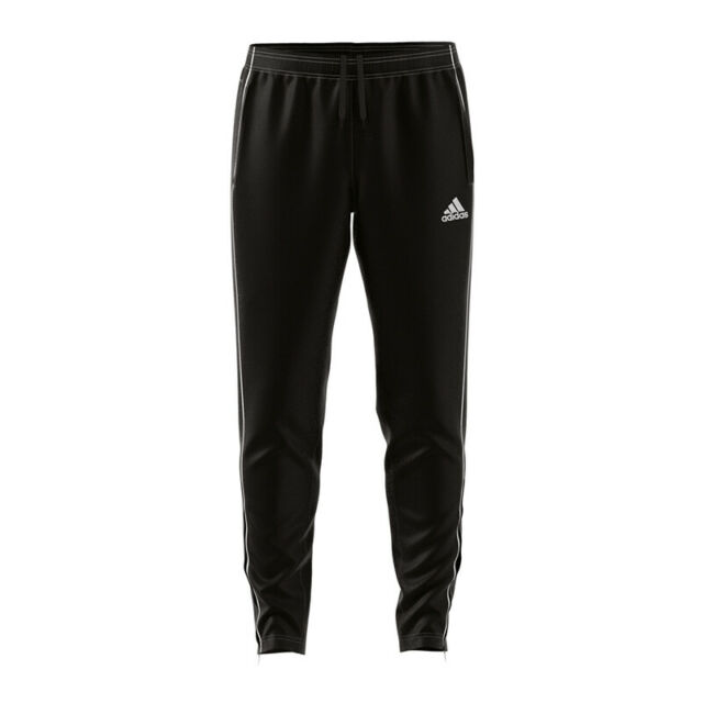 adidas Core 18 Training Pant Schwarz Weiss
