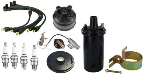 140 Tractor IH Distributor 130 100 6V Coil /& Tune Up Kit IH Farmall Super A