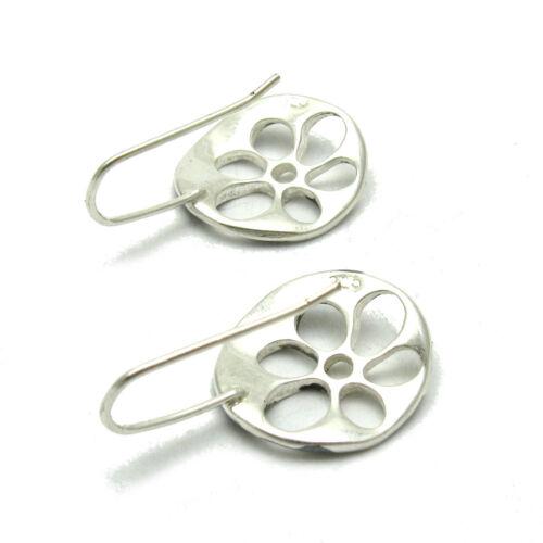 925 Silber Ohrringe Blume E000599