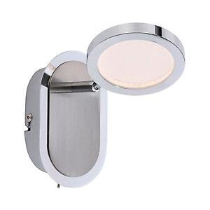 DESIGN-LED-Applique-murale-Nola-1flg-9511-55-nickel-mat