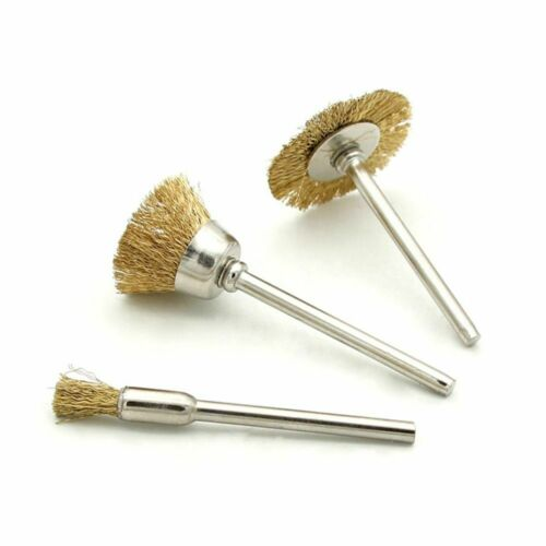 Fit For Dremel Rotary Drill Polishing Wire Wheel Pencil Cup Brush Shank Tool