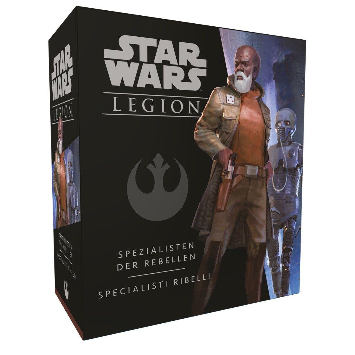Star Wars Legion Specialists the Rebels Extension (German   Italian) Ffg