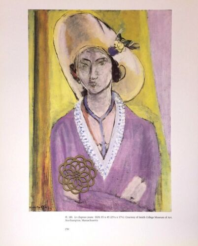 "Matisse Art Print Bookplate FAUVIST WOMEN PORTRAITS 9.5/"" x 12/"" ** SEE VARIETY"
