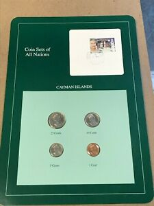 Coin Sets of All Nations Guatemala w//card 4 coins 1983-1985 UNC
