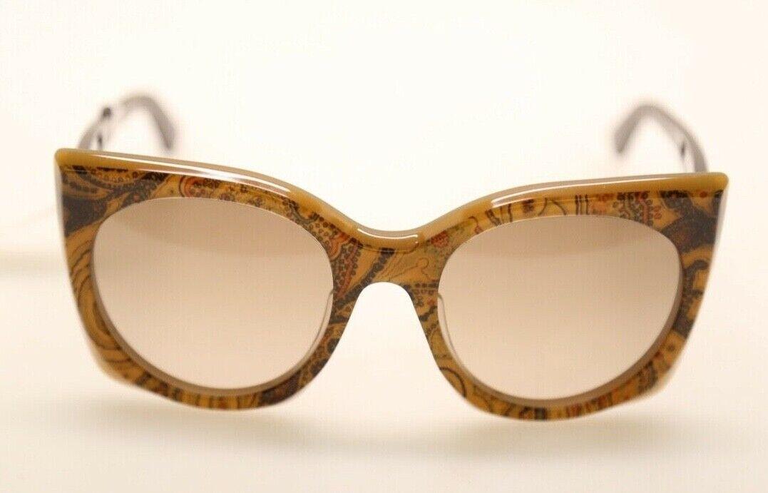 ETRO ET630S 211 Brown Paisley/Brown 53mm Sunglasses (#305)