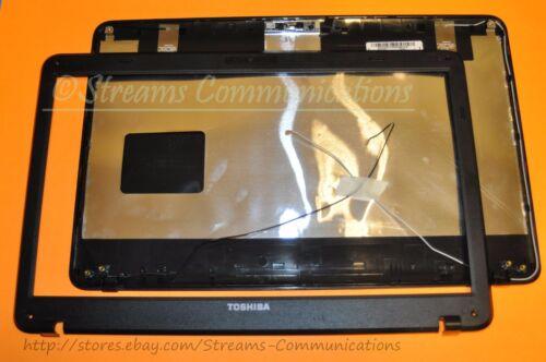 Webcam LCD Bezel TOSHIBA Satellite C655-S5054 Laptop Back Cover Wi-Fi Antenna