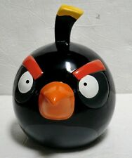 Angry Birds black Piggy Bank Ceramic room decoration NEW coin bird