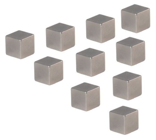 Neodym Magnete Super Magneten Starkmagnete 10x10x10mm Stückzahl wählbar 5 10 20