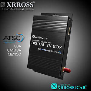 XRROSS Car Digital TV Receiver Antenna ATSC HD for United State Canada Mexico