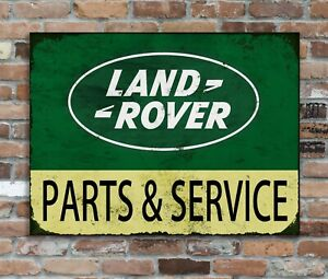 Land Rover Replica Vintage Metal Wall Sign Retro  Man Cave Garage Shed 28*20cm