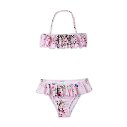 Choose Size NWT Girl/'s Stella Cove Pink Ruffle Bikini Set $48