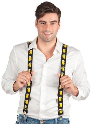Bretelle Neon Animale Tigre pirata Hippie Costume discoteca vestito party Camicia Pantaloni Cappello
