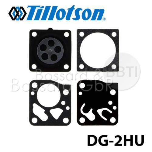 Tillotson Vergaser Membransatz DG-2HU für Solo 610 647 McCulloch PM370 PM490