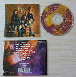 CD-NO-BOX-SANS-BOITIER-LES-B-B-SNOB-10-TITRES-1991-MADE-IN-ALLEMAGNE