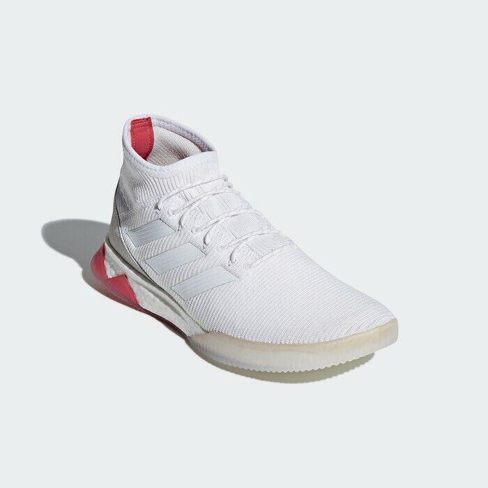 Adidas Men's Prossoator Tango 18.1 TR  bianca Boost Indoor Soccer scarpe CM700  vendita scontata