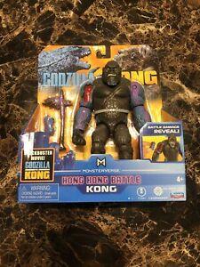 NEW Godzilla Vs Kong Hong Kong Battle Kong RARE Playmates Toy Figure 2021 Movie